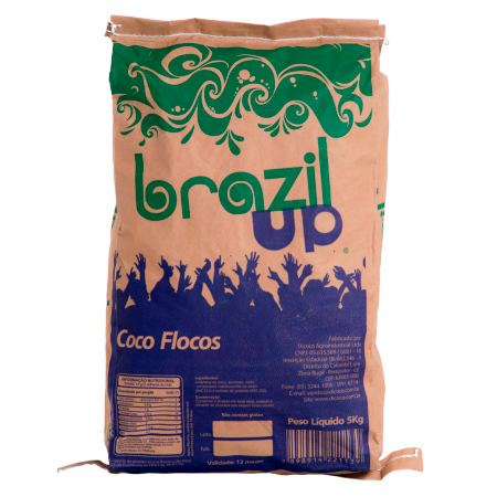 brazil pure coconut flakes up 5kg