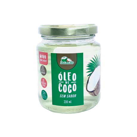 unscented coconut oil 200ml