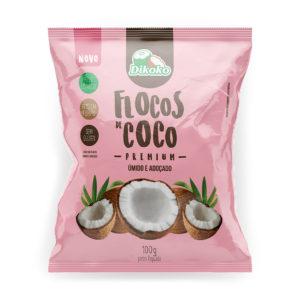 hojuelas de coco húmedas y endulzadas 100g